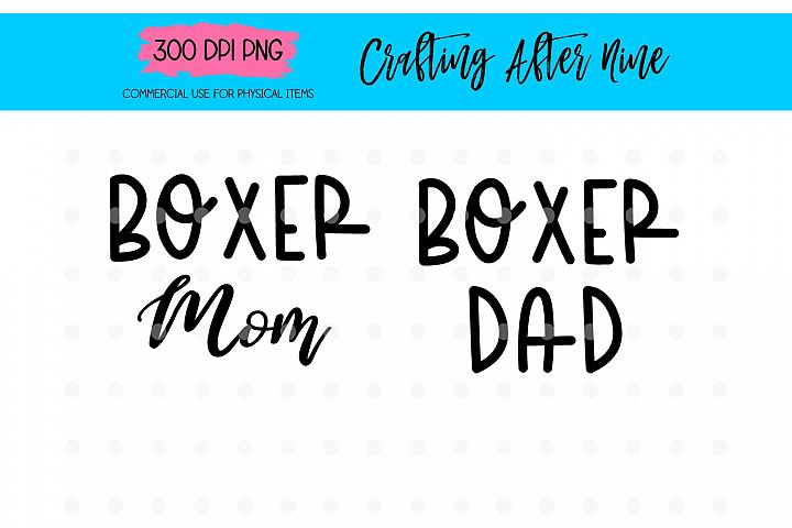 Boxer Mom SVG, Dog Breed, Boxer Mama, Puppy Puppers