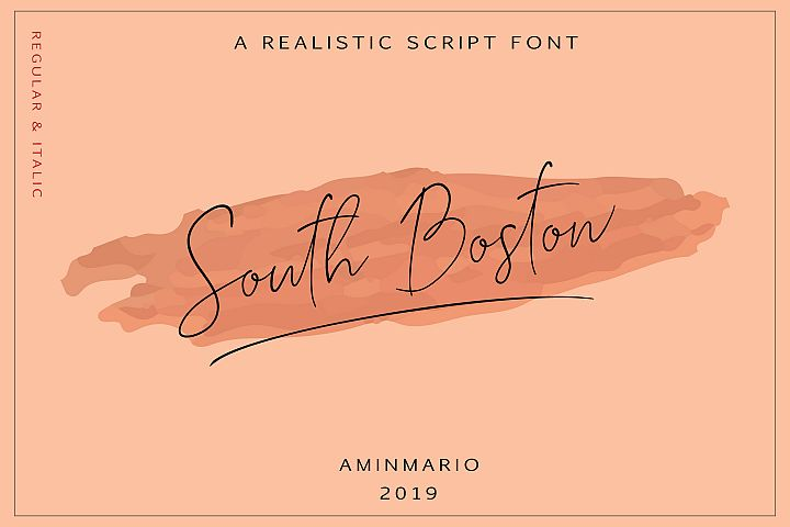 SOUTH BOSTON | REALISTIC SCRIPT