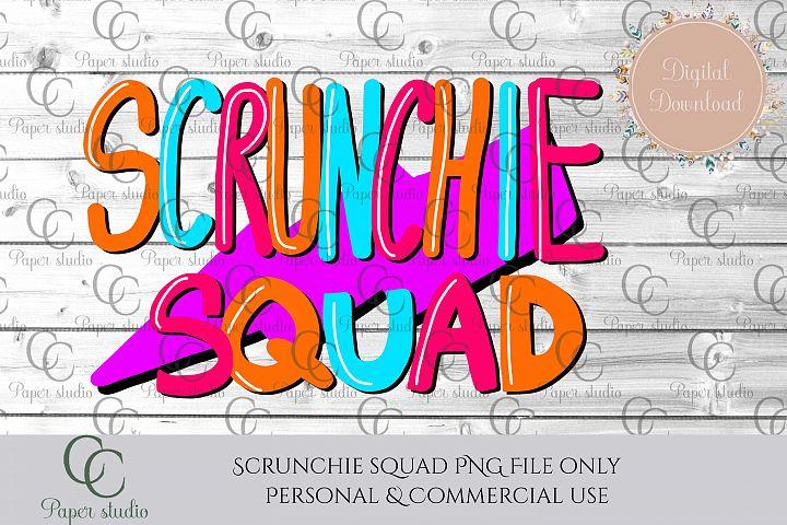 VSCO Scrunchie squad sublimation design