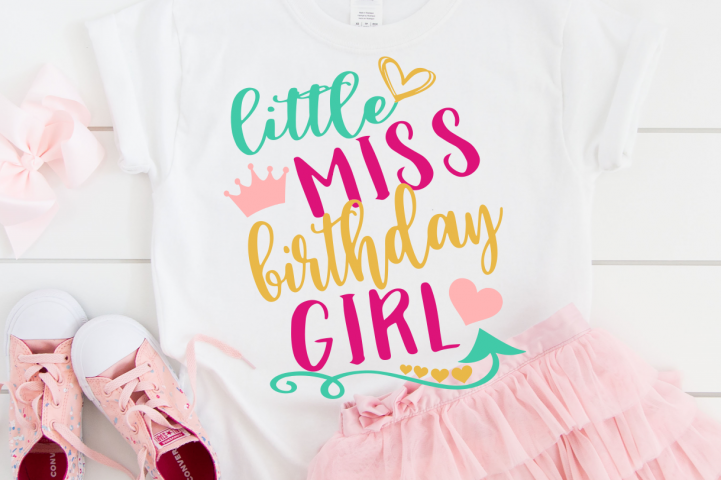Birthday girl shirt svg design , Kids svg