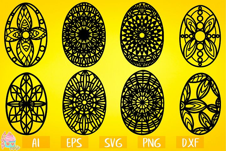 Easter Ornate Eggs Bundle - Easter Designs