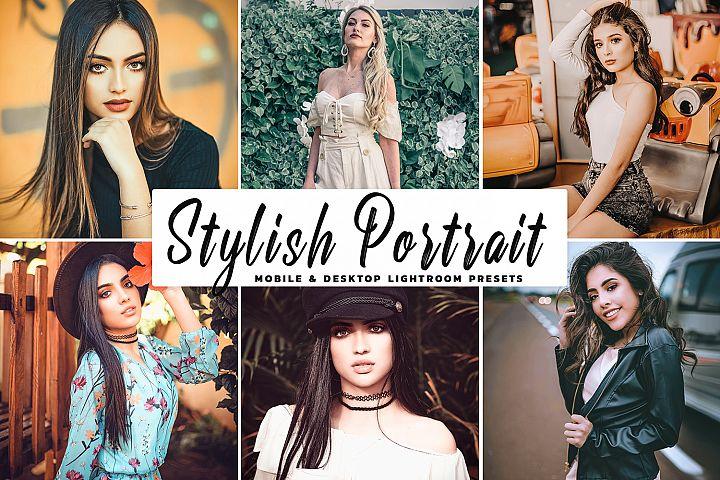 Stylish Portrait Mobile & Desktop Lightroom Presets
