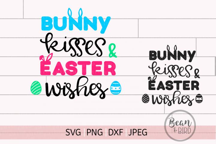 Bunny Kisses Easter Cut File