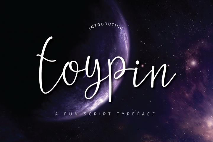 Toypin Typeface