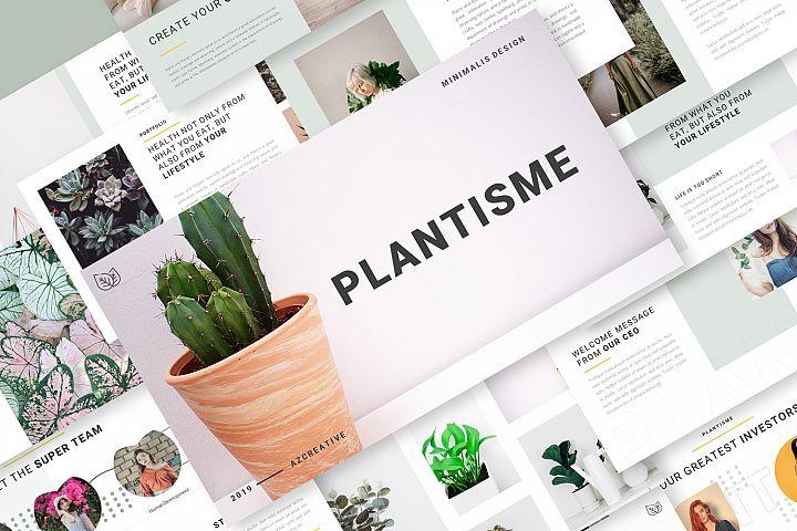 Plantisme - PowerPoint Template
