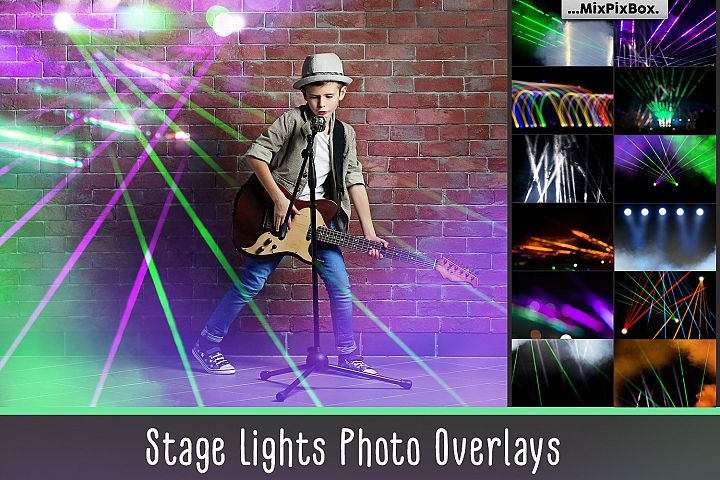 Stage Lights Overlays