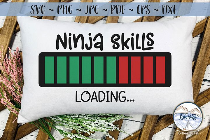 Ninja Skills Loading - Martial Arts SVG