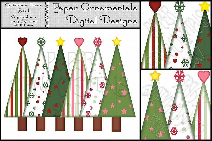 Christmas Clip Art, Christmas Trees