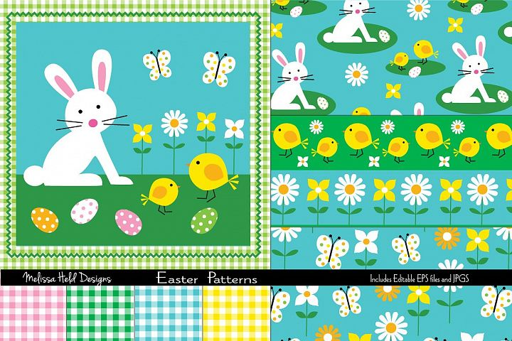 Easter Graphic & Patterns