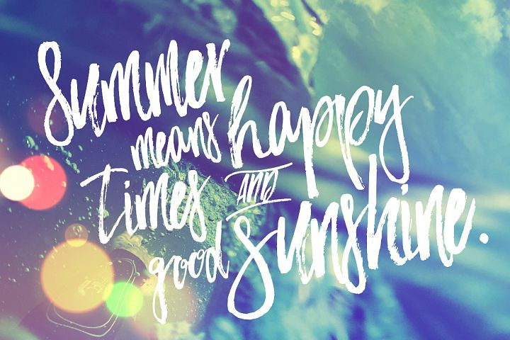 Bahamas Brush Font - Free Font of The Week Design4