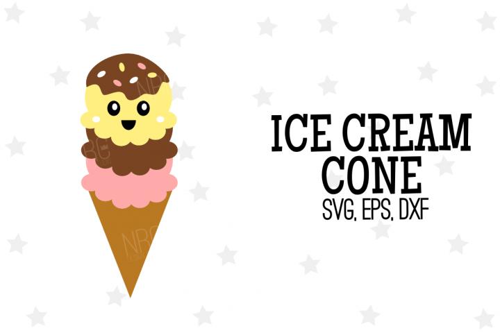 Ice Cream Cone SVG File