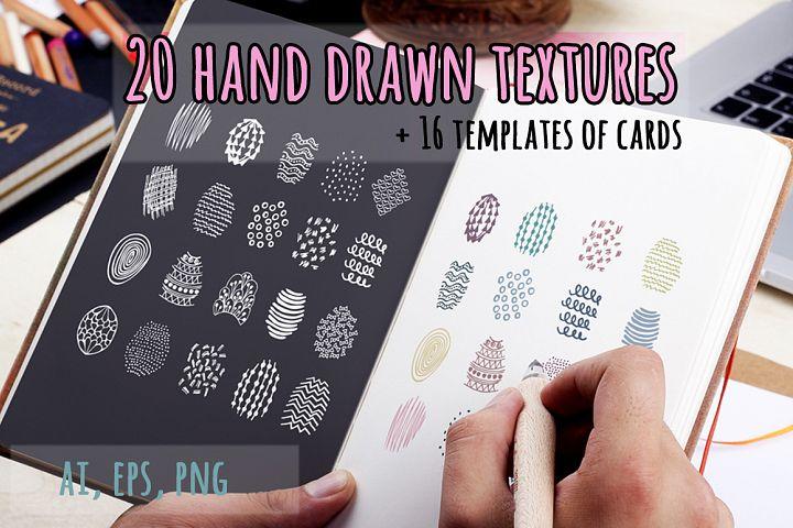 20 doodle pattern
