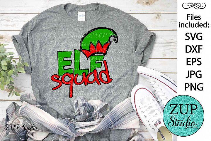 Elf Squad SVG Design Cutting Files 314