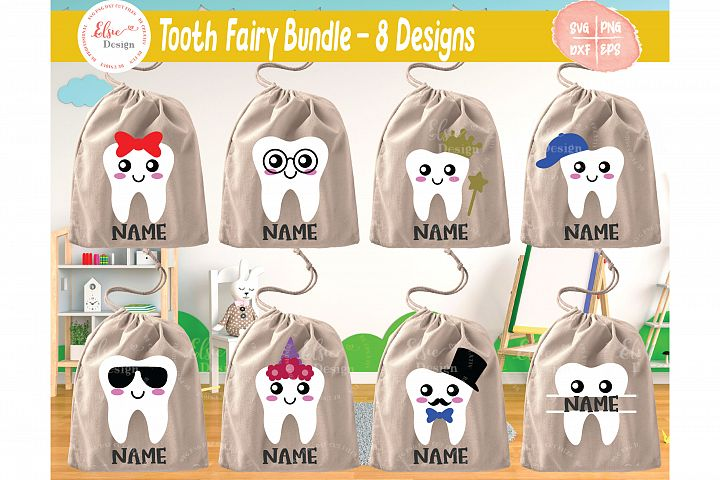 Tooth Fairy Bundle SVG Cut Files