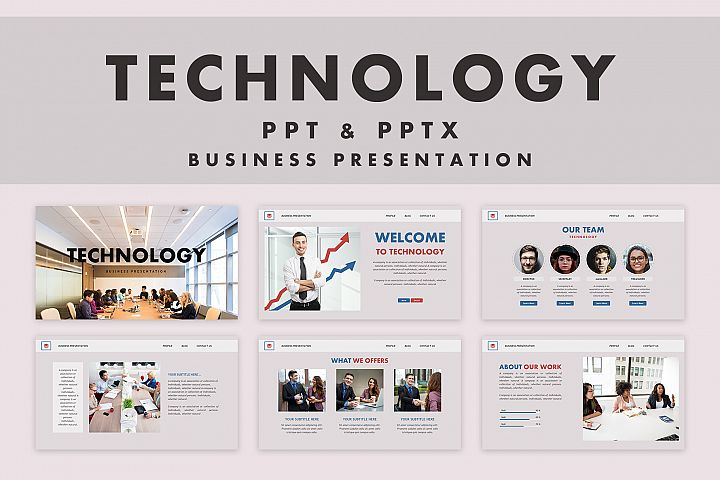 Technology | Powerpoint Template