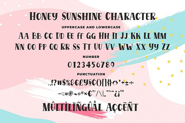 Honey Sunshine - a Quirky Serif Font example image 6