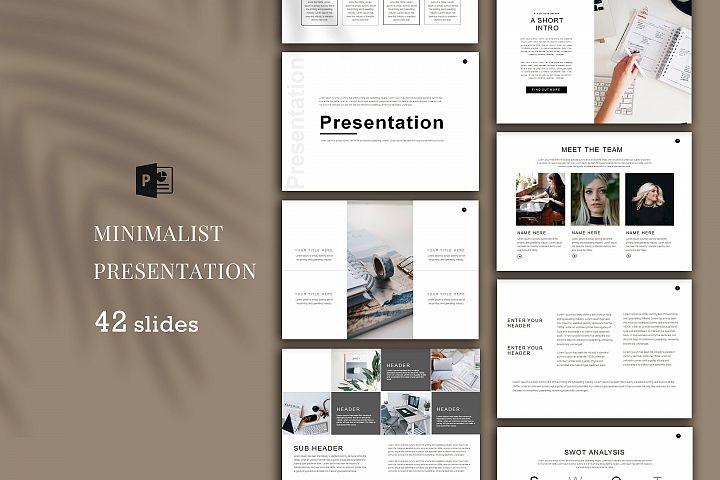 Minimal Presentation, PowerPoint