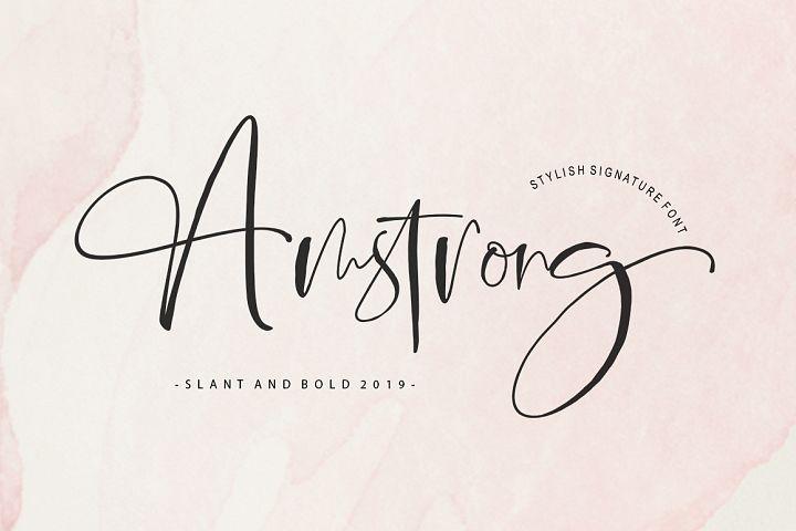 Amstrong Signature Script