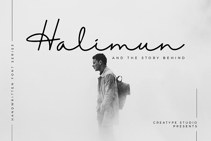 Halimun Script Style