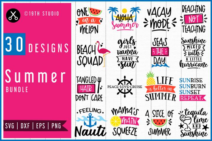 Summer SVG Bundle| MB48