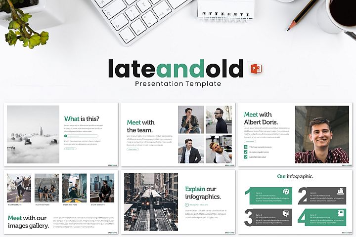 Lateandold - Powerpoint Template