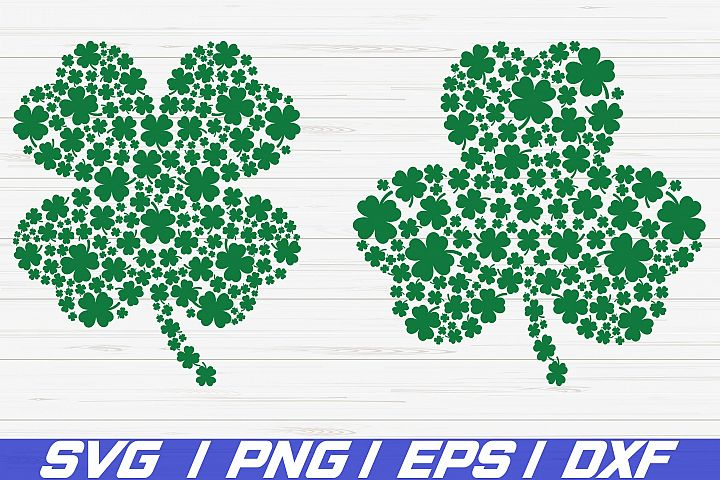 St. Patricks Day SVG/ Clover Svg/ Cricut/ Cut File/ Vector