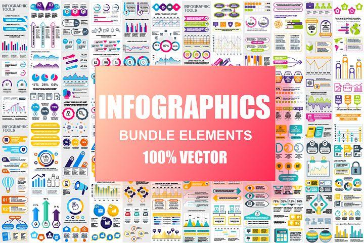 Infographic Elements Mega Bundle