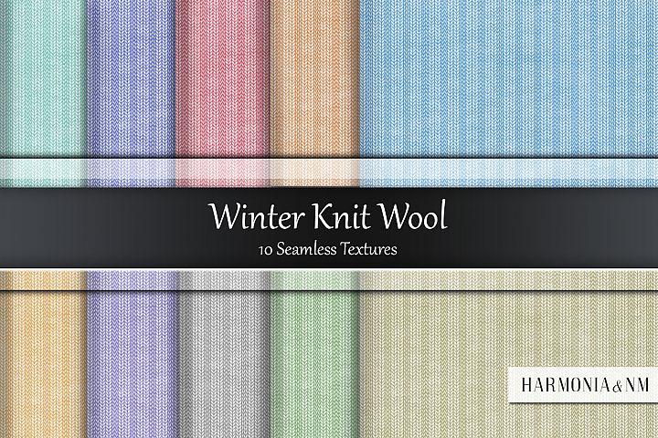 Winter Knit Wool Seamless Textures