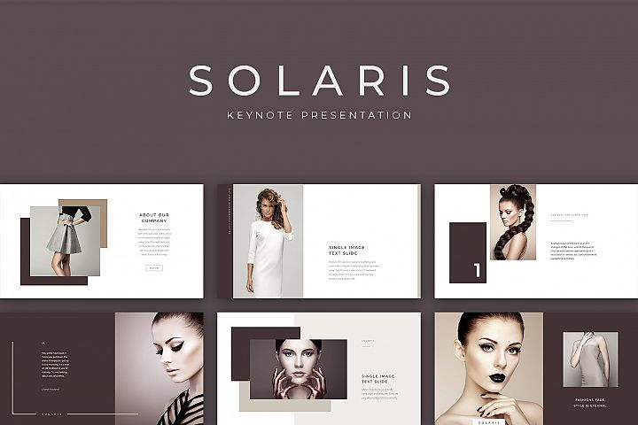 Solaris Keynote Presentation Template
