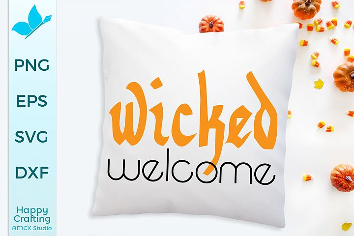 Wicked Welcome - A Halloween Craft File