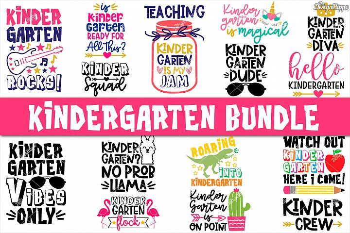 Kindergarten Bundle of 15 Designs SVG DXF PNG Cutting Files