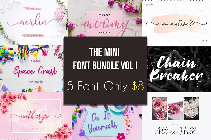The Mini Font Bundle Vol I