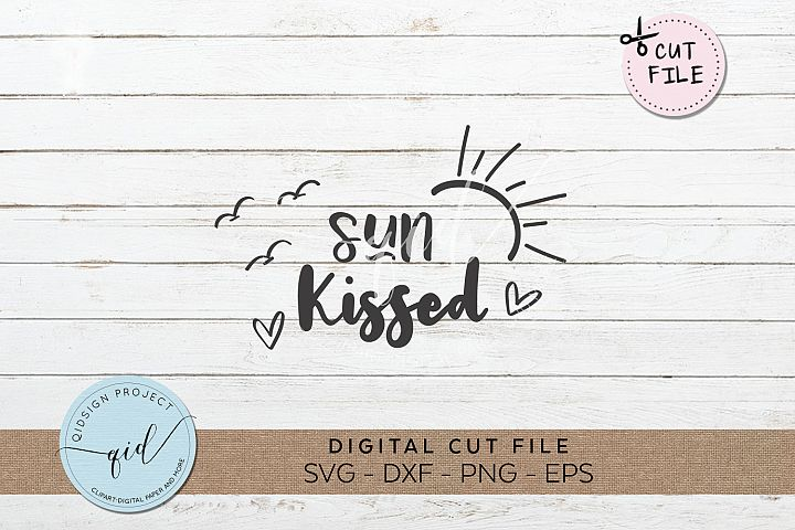 Sun Kissed SVG DXF PNG EPS