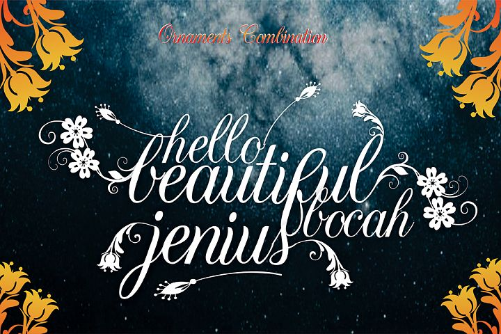 Israquella Script - Free Font of The Week Design 2