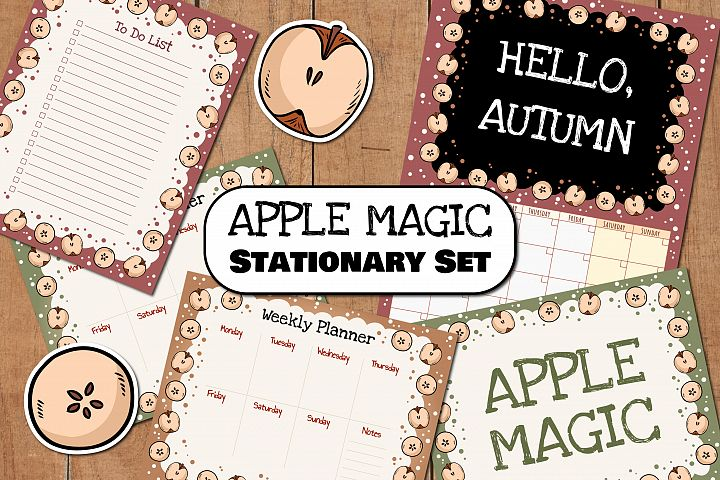 Apple Magic Stationary Set