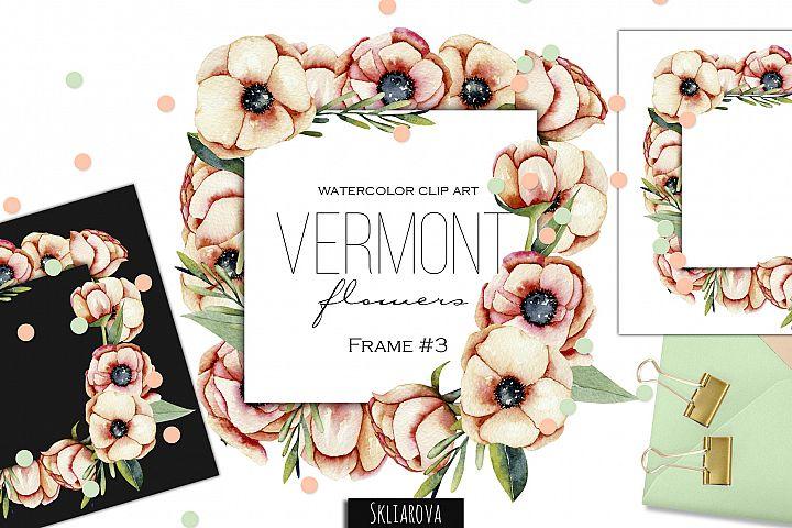 Vermont flowers. Frame #3
