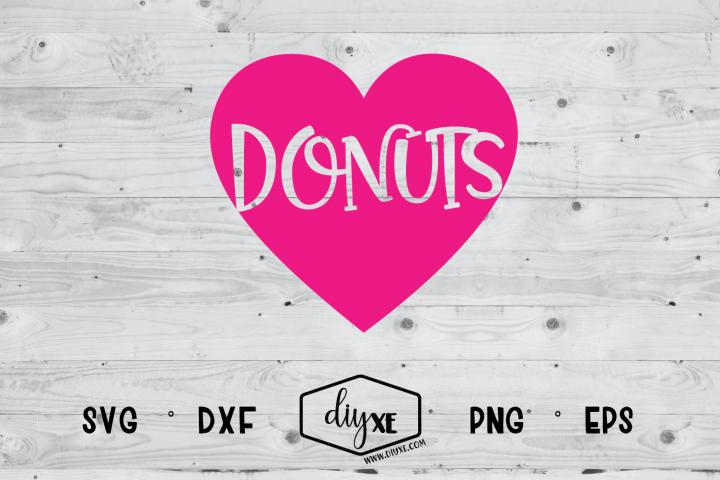 Donut Lover - Food SVG Cut File