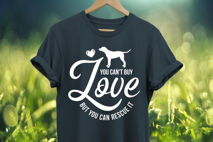 You cant buy love but you can rescue it SVG