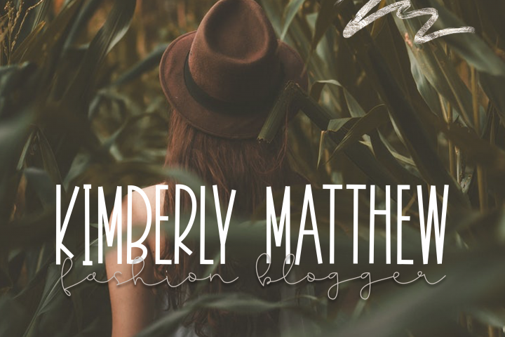 November - A Tall Handwritten Font - Free Font of The Week Design1