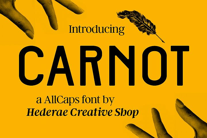 Carnot Typeface