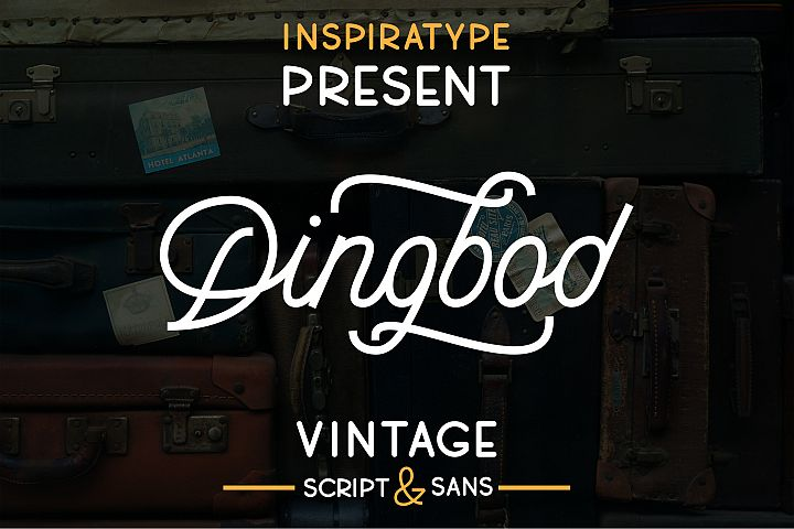 Dingbod - Script and Sans