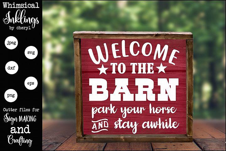 The Barn SVG