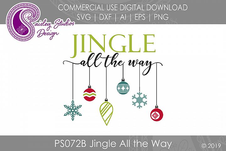 Jingle All the Way SVG DXF Ai EPS PNG