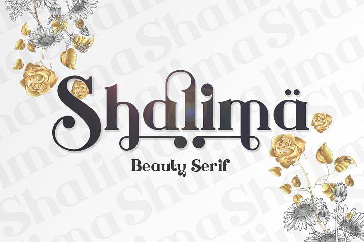 Shalima beauty serif