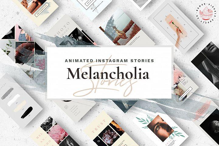Animated Instagram Stories - Melancholia