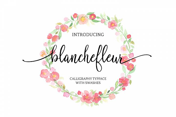 Blanchefleur Calligraphy Font