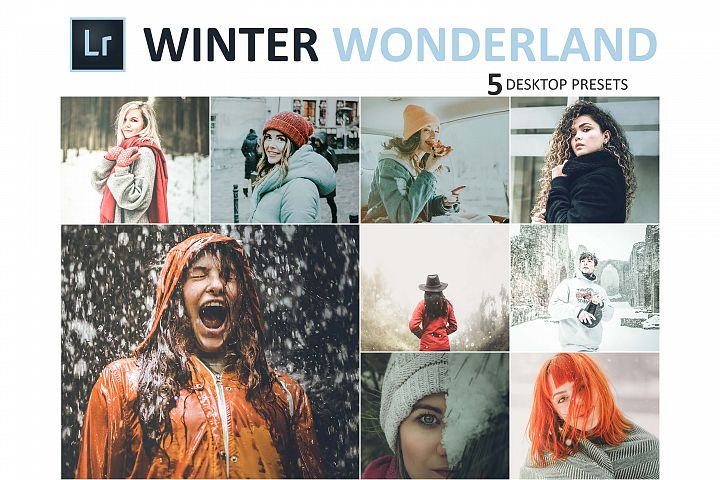 Neo Winter Wonderland Desktop Lightroom Presets