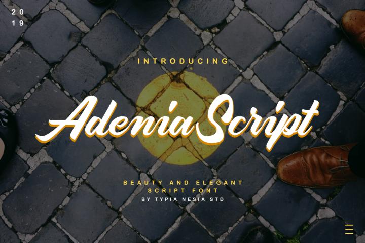 Adenia Script