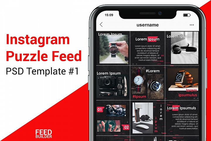 Instagram Feed Template for Dropshipping #1