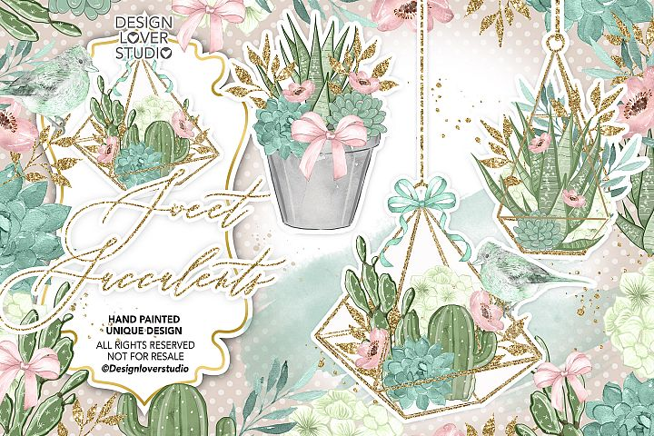 Sweet Succulent design